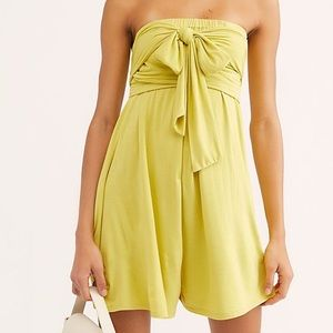 Free people convertible romper